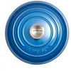 bovenkant Ronde Braadpan 20 cm Marseilleblauw