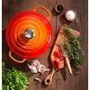 product in gebruik Marmite Braadpan 32 cm Oranje-rood