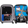 visual Coolblue Segur Cabin Size Trolley 55cm Blauw