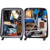 visual Coolblue Segur 4 Wheel Trolley Case 82cm Blue