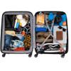 visual Coolblue Segur 4 Wheel Trolley Case 82cm Grijs