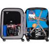 visual Coolblue Maloti Cabin Size Trolley 55cm Slim Blau