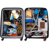 visual Coolblue Baikal 78cm Expandable Trolley Red