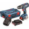 rechterkant GSB 18-2-Li Plus + accessoireset