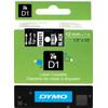 verpakking Dymo D1 Naamlabels Z-W (12 mm x 7 m)