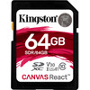 Kingston SDXC Canvas React 64 Go 100 MB/s