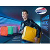 product in gebruik Soundbox Expandable Spinner 55cm Yellow
