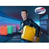 visual leverancier Soundbox Expandable Spinner 67cm Yellow