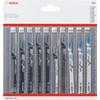Bosch Professional 10-delige Decoupeerzaagbladenset