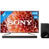 voorkant KD-49XF9005 + Sony HT-XF9000