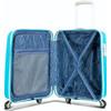 binnenkant Phoenix NXT Spinner Case 55cm Teal Blue