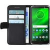 Azuri Wallet Magnet Motorola Moto G6 Plus Book Case Black