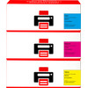 Pixeljet 126A Toner Cartridge 3 Colors for HP printers (CF371AM)