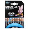Duracell Ultra Power alkaline AAA batteries 8 pieces