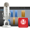 Blue Yeti Podcaster Bundle + Hindenburg Journalist Software