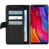 Azuri Wallet Magnet Xiaomi Mi 8 Book Case Black