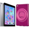 Apple iPad (2018) 32 GB Wifi + Evo Play2 Back Cover Pink