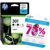 HP 301 Ink Cartridge 3-Pack