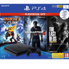 Sony PS4 Slim 1 TB PlayStation Hits bundel (3 games)