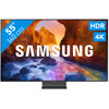 """<p>We tested the 55-inch version ourselves. Read our <a data-trackclickevent='Custom Tracking CM, Televisies expert reviews, 827631 Samsung QE55Q90R' href=""""/advies/specialisten-review-samsung-q90r.html"""" title=""""specialisten review van de Samsung Q90R"""">specialist review of the Samsung Samsung Q90R</a> here.</p>  <p>With the Samsung QE55Q90R you enjoy sharp and colorful image quality. This QLED TV produces a color level of 100%. This allows you to see every subtle hue in for example a cloud field or the fur of an animal. Thanks to the high brightness, the bright colors of the screen splash. In addition to clear, black images are also displayed in a realistic manner. This is due to Direct Full Array 16x local dimming. This technique obscures the dark parts of the image and makes the light parts extra bright. The included One Connect Box ensures a neat integration into your living room. With this you connect the TV with 1 transparent cable to the wall socket and your devices. With the optional No Gap Wall-Mount you can hang the TV tightly against the wall.</p>"""