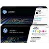 HP 410X Toner Cartridge Combo pack 4 Colors
