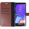 Valenta Booklet Gel Skin Samsung Galaxy A7 (2018) Book Case Bruin