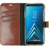 Valenta Booklet Gel Skin Samsung Galaxy A6 (2018) Book Case Brown