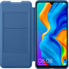 Huawei P30 Lite Flip Cover Book Case Blue