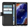 Azuri Wallet Magneet Nokia 9 PureView Book Case Zwart