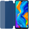 Huawei P30 Lite View Flip Cover Book Case Blue