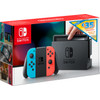 Nintendo Switch Red/Blue + 35 eShop credit