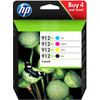 HP 912XL Combo Pack 4 Colors (3YP34AE)