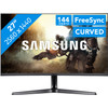 <p>The Samsung LC27JG56QQUXEN is a 27-inch gaming monitor. Thanks to the curved screen, you can experience games more intensely. Thanks to the FreeSync technology, you won't be bothered by tearing and stuttering, since it lets the monitor and your AMD video card synchronize better. The 144Hz refresh rate ensures fluently moving images. That way, you won't have a lagging effect and you can accurately follow every movement in your favorite shooter. The screen with a high 2560x1440 resolution has an anti-reflective panel, so you won't be distracted by reflecting light.</p>
