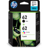 HP 62 Cartridge Combo 2 Pack 4 Kleuren (N9J71AE)
