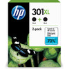 HP 301XL Black Twin Pack (D8J45AE)