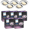 Philips Hue Centura Inbouwspot White & Colour rond wit 5-Pack