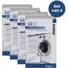 Scanpart Vaatwasser en Wasmachine Ontkalker 4 stuks