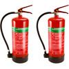 Alecto Schuim brandblusser 6 liter Duo pack