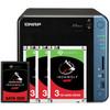 QNAP TS-453Be 4GB + 1x 480GB SSD + 3x 3TB HDD