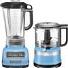 KitchenAid Diamond Blender Blauw Velvet + Hakmolen