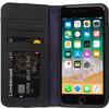 Decoded Leather Wallet Case voor iPhone 8 / 7 Zwart