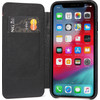 Decoded Leather Slim Wallet Apple iPhone Xs Max Book Case Black