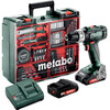<p>The Metabo SB 18 L Mobile is a light, compact and powerful cordless drill. It comes standard with <strong>2 18 volt 2.0 Ah Li-Ion batteries</strong> so that you never have to be without power. In addition to screws and drills in wood and metal, you can also use it with <strong>knock function</strong> for the somewhat more robust drilling in brick, for example. You can get started right away with the SB 18 L Mobile: it comes with a richly filled <strong>accessory case</strong> which of course also serves in transport and storage. And isn't the job done yet, but is it getting too dark for a good view of your work? No problem; the <strong>integrated work light</strong> provides light in the darkness.</p>