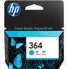 HP 364 Cartouche Cyan (CB318EE)
