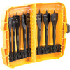 DeWalt Set de 8 mèches plates Tough Case DT7943B