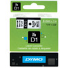 Dymo D1 Name labels Black-White (6 mm x 7 m)