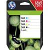 HP 364 Cartridges Combo Pack