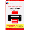 Marque distributeur 950/951 4 Couleurs XL pour imprimantes HP (C2P43AE)