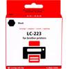 Pixeljet LC-223BK Cartridge Zwart voor Brother printers
