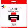 Pixeljet LC-223 4-Kleuren Pack voor Brother printers